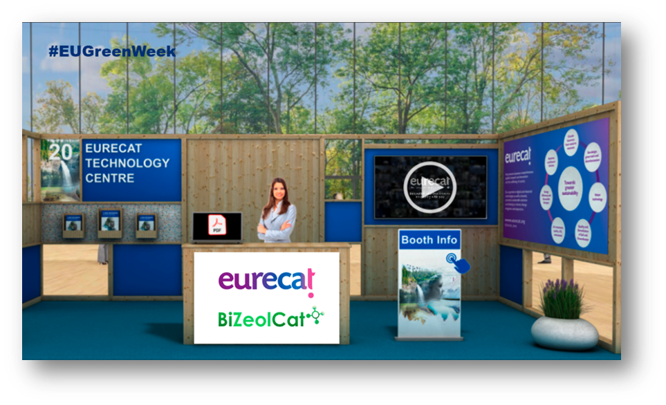 From June 1-4 find #BIZEOLCAT at @Eurecat_news stand of the #EUGreenWeek @greenweek to know more about catalytic transformation to develop a low carbon economy BIZEOLCAT will be showcased as a key project working on transforming unexploited resources into valuable products.